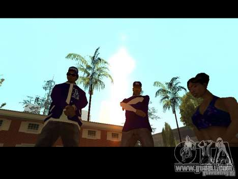 Piru Street Crips for GTA San Andreas eighth screenshot