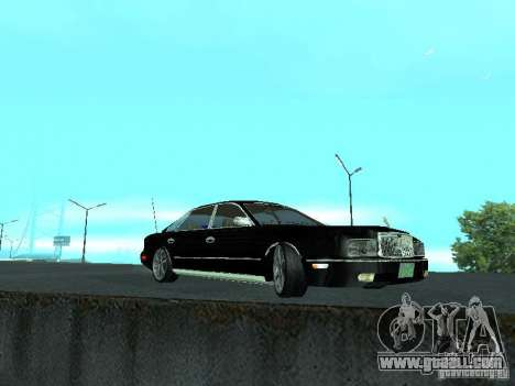 Nissan President JS for GTA San Andreas back view
