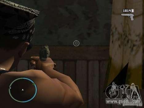 Camera of GTA IV 1.0 for GTA San Andreas