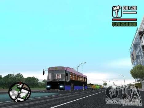Trolza 5275 Optima for GTA San Andreas right view