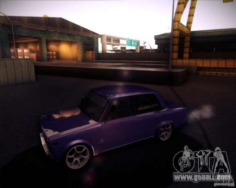 VAZ 2106 drift for GTA San Andreas right view