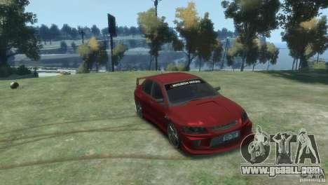 Mitsubishi Lancer Evolution VIII for GTA 4