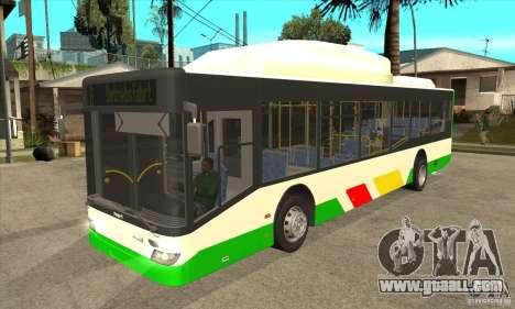 Mercedes Benz MAN Lions City CNG for GTA San Andreas