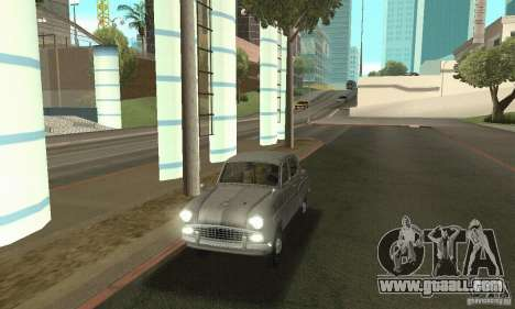 Moskvich 407 1958 for GTA San Andreas
