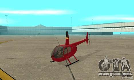 Robinson R44 Raven II NC 1.0 Skin 1 for GTA San Andreas left view