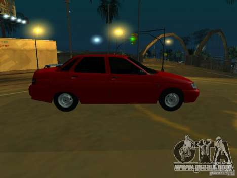 VAZ 2110 for GTA San Andreas back left view