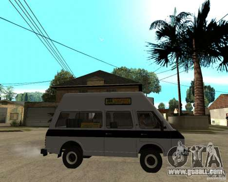 RAPH 22038 taxi for GTA San Andreas right view