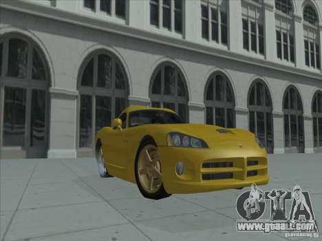 Dodge Viper SRT-10 (Golden Viper) for GTA San Andreas