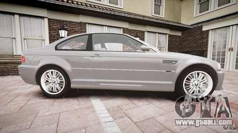 BMW M3 e46 v1.1 for GTA 4 inner view