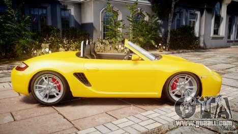 Porsche Boxster S for GTA 4 left view