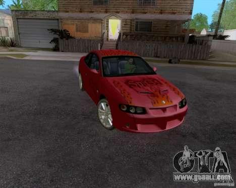 Vauxhall Monaco VX-R for GTA San Andreas
