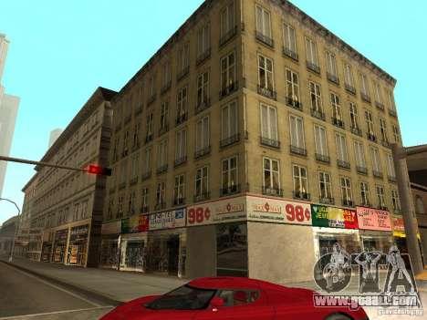 New textures downtown Los Santos for GTA San Andreas second screenshot