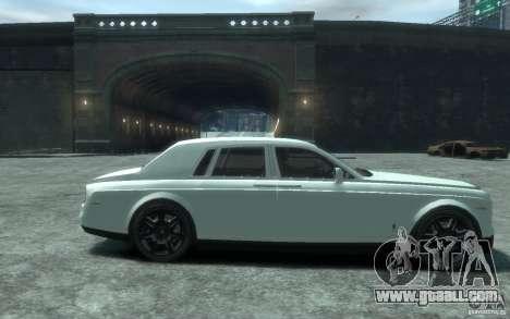 Rolls-Royce Phantom for GTA 4 back view