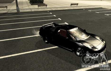 Acura NSX Tuned for GTA San Andreas upper view