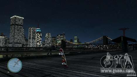 Skateboard # 2 for GTA 4 right view