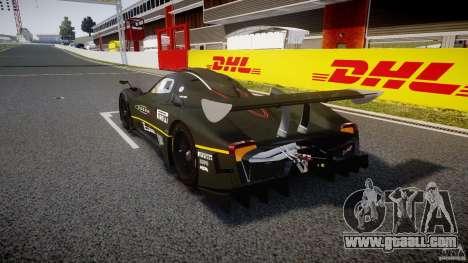 Pagani Zonda R 2009 for GTA 4 back left view