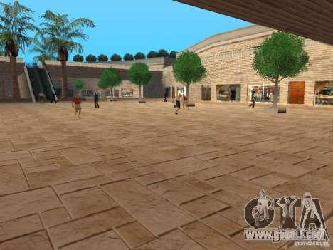 New textures shopping center for GTA San Andreas second screenshot