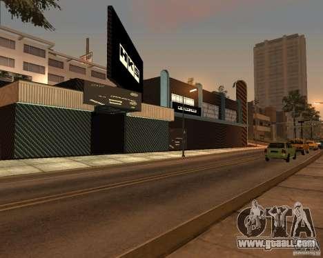 New HKS Style Tuning Garage for GTA San Andreas third screenshot