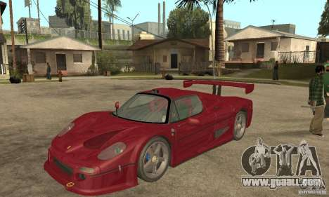 Ferrari F50 GT (v1.0.0) for GTA San Andreas