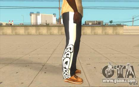 Reebok Sporthose for GTA San Andreas forth screenshot