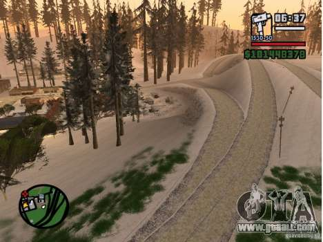 Winter Mod for GTA San Andreas