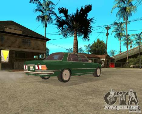 Mercedes - Benz 450SEL 6.9 AMG (W116) for GTA San Andreas back left view