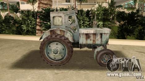 Tractor t-40 for GTA Vice City left view