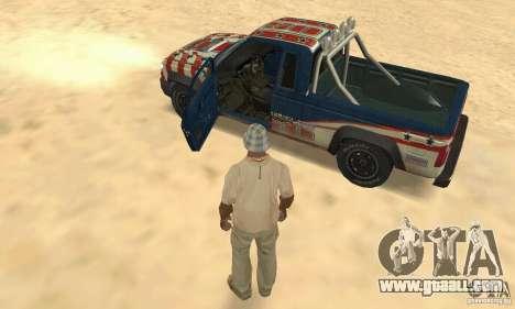 Nevada v1.0 FlatOut 2 for GTA San Andreas back view