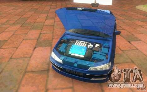 Peugeot 406 1.9 HDi for GTA San Andreas inner view