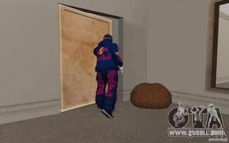 Red Bull Clothes v2.0 for GTA San Andreas seventh screenshot