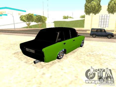 VAZ 2106 HUlK for GTA San Andreas right view