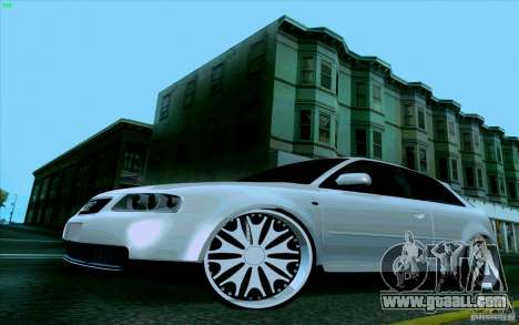 Audi A3 DUB Edition for GTA San Andreas right view
