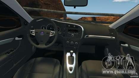 Saab 9-3 Turbo X 2008 for GTA 4 back view