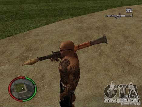 GTA IV HUD v1 by shama123 for GTA San Andreas second screenshot