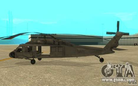 UH-80 for GTA San Andreas back left view