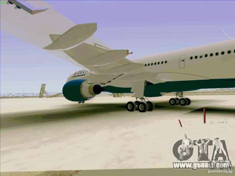 Airbus A330-200 for GTA San Andreas inner view