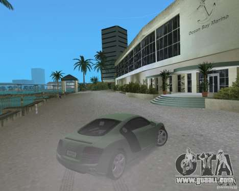 Audi R8 4.2 Fsi for GTA Vice City back left view