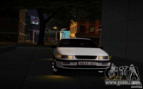 Volkswagen Passat B4 for GTA San Andreas back view