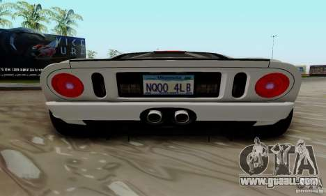 Ford GT 2005 for GTA San Andreas side view