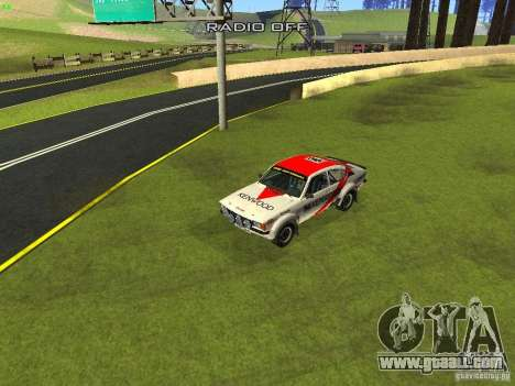 Opel Kadett for GTA San Andreas wheels