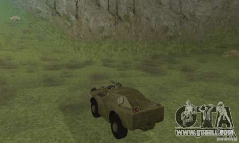 BRDM-1 Skin 4 for GTA San Andreas right view