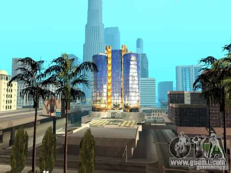 New texture of skyscraper for GTA San Andreas