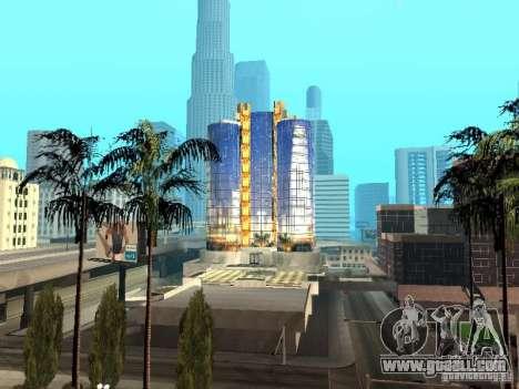 New texture of skyscraper for GTA San Andreas
