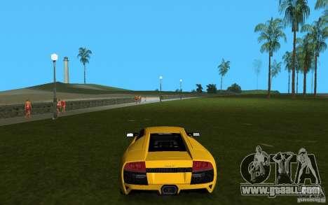 Lamborghini Murcielago LP640 for GTA Vice City right view