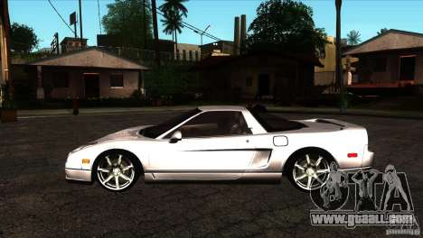 Acura NSX Stock for GTA San Andreas left view
