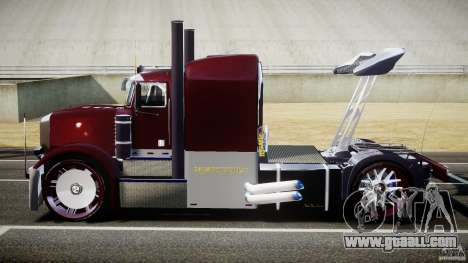 Peterbilt Sport Truck Custom for GTA 4 inner view