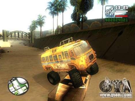 Bullet Storm Bus for GTA San Andreas