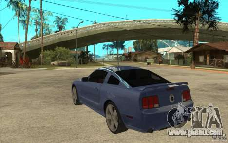 Ford Mustang 2005 for GTA San Andreas back left view