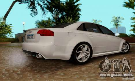 Audi RS4 2007 for GTA San Andreas inner view