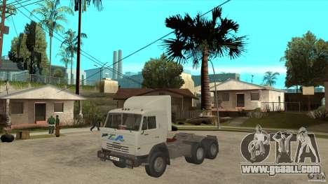 KAMAZ 54115 for GTA San Andreas side view